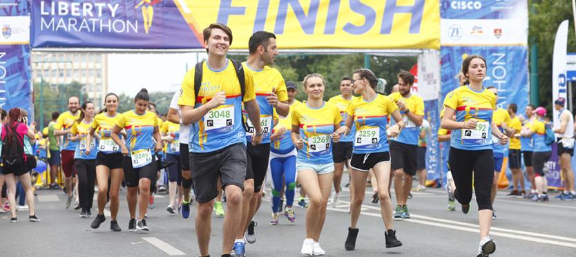 UVT Liberty Marathon, ediție atipică
