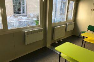Modulele şcolare au fost racordate de COLTERM la încălzirea centralizată
