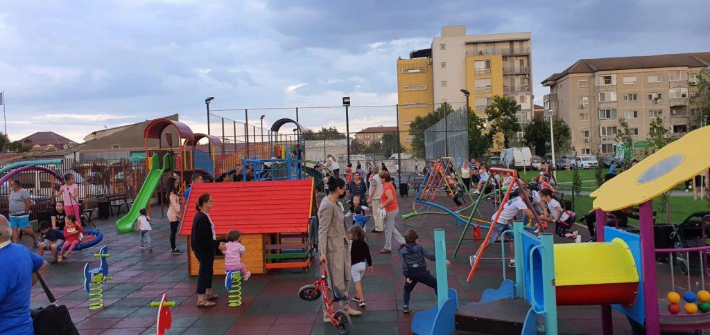 A fost inaugurat parcul din Calea Lipovei
