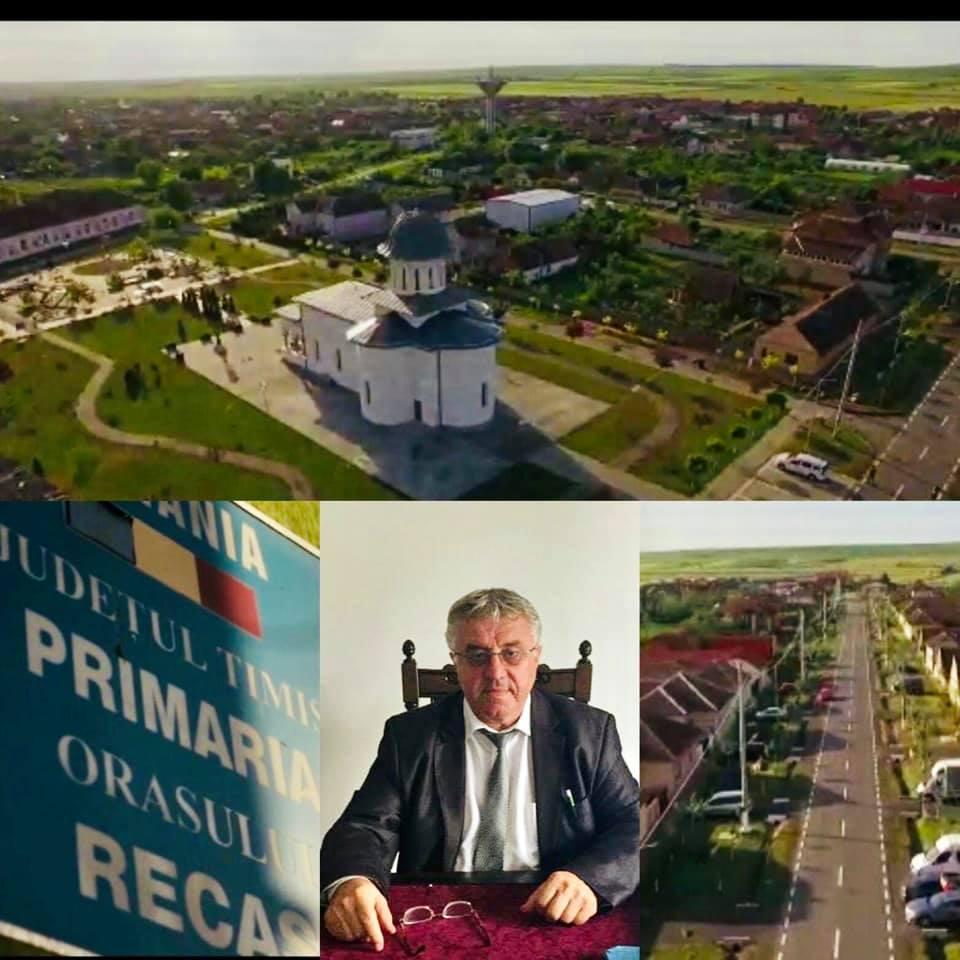 Primarul din Recaș, mesaj de mulțumire pentru alegători