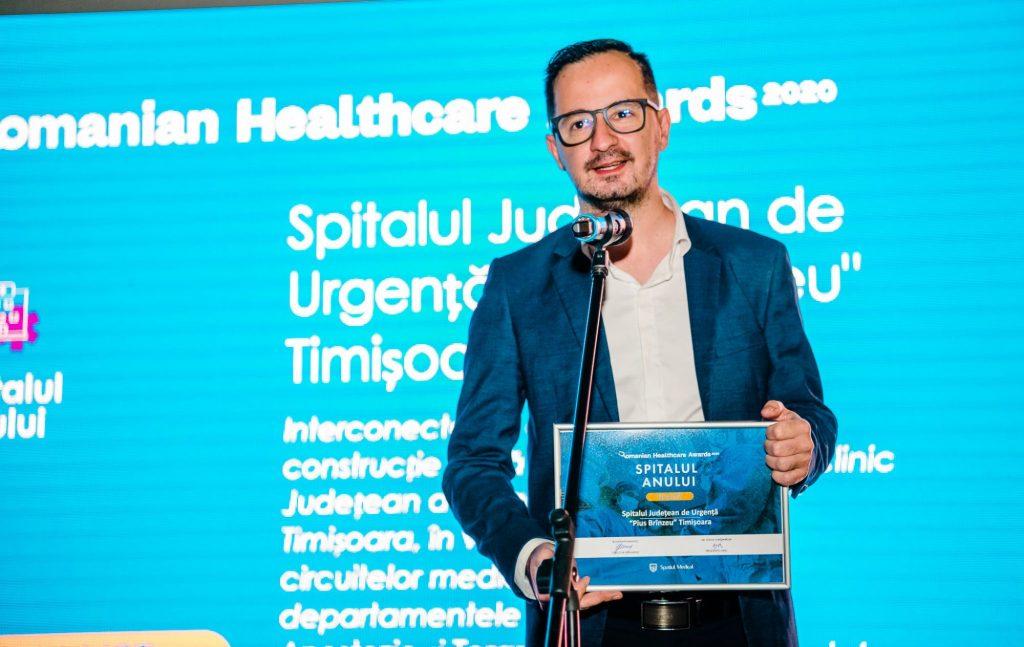 """Spitalul Județean de Urgență """"Pius Brînzeu"""" din Timișoara este SPITALUL ANULUI în România!"""