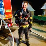 Salvator și în timpul liber. Ce gest a făcut un pompier de la ISU Timiș