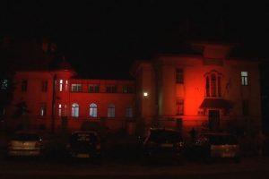 Spitalul Victor Babeș, scăldat în lumină portocalie de Ziua Mondială a Siguranței Pacientului