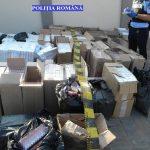 Peste jumătate de milion de ţigări netimbrate confiscate de la contrabandişti în Lugoj