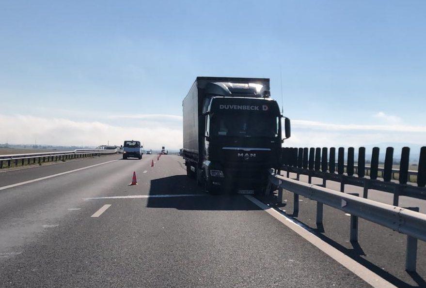 Circulație îngreunată pe autostrada A1