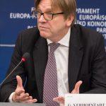 Guy Verhofstadt, fost prim-ministru al Belgiei și actual membru marcant al Parlamentului European, susține candidatura lui Dominic Fritz la PrimăriaTimișoara (P)