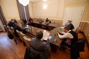 Primarul Dominic Fritz, întâlniri cu reprezentanții mai multor domenii de importanță majoră pentru dezvoltarea economică, socială și culturală a Timișoarei