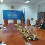 Dominic Fritz a avut o întrevedere cu autoritățile la Prefectura Timiș