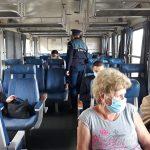 Actiuni de prevenire Covid-19 în gări și trenuri