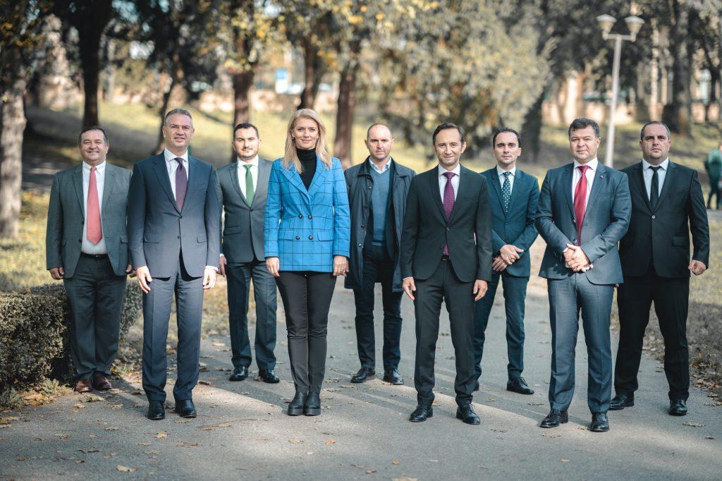Echipa câștigătoare pentru Timișul european