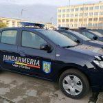 Autoturisme noi pentru misiunile jandarmilor din Timișoara