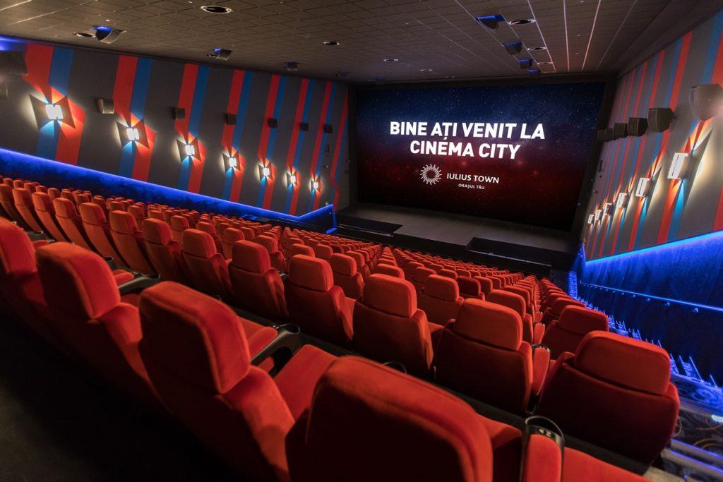 Din octombrie, mai mult CINEMA în Timișoara. În premieră, VIP și Dolby Atmos la Cinema City Iulius Town, acum extins și complet renovat