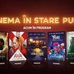 7 dintre cele mai noi premiere ale sezonului te aşteaptă ACUM la cinema. Cinema City redeschide de astăzi cinematografele din București și din țară