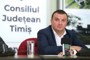 """Călin Dobra: """"Sunt mândru de tot ce am făcut pentru județul Timiș, însă, suficient de realist ca să îmi asum nu doar reușitele, ci și eșecurile"""""""