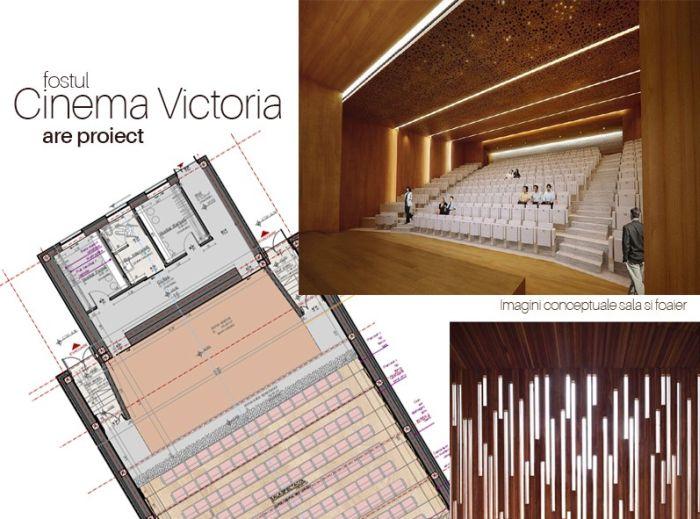 Victoria, primul cinematograf din Timișoara care intră în reabilitare