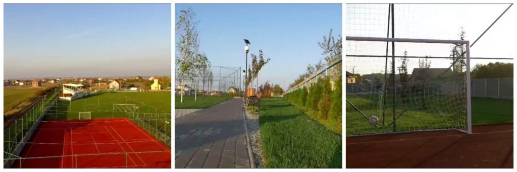 Cel mai frumos complex sportiv din Timiș a fost amenajat în Giarmata Vii/ VIDEO