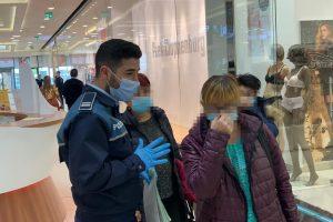 Peste 200 de timișoreni, amendați pentru că nu purtau mască în spații publice