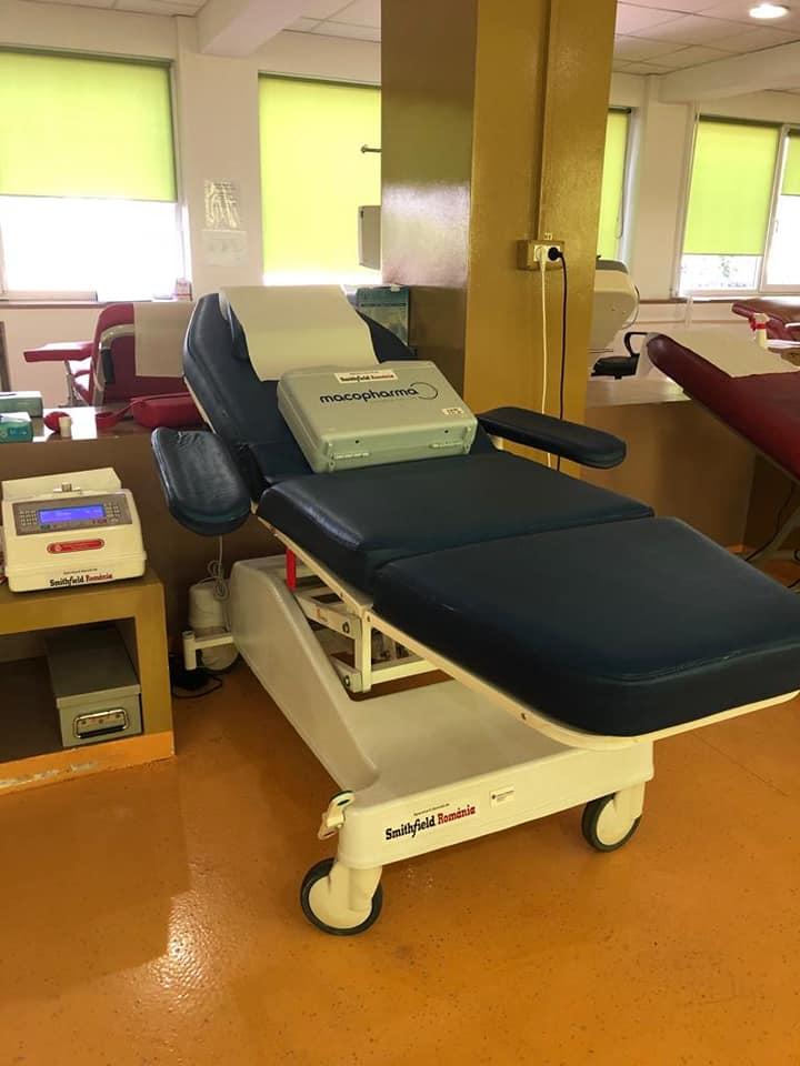 Donație importantă pentru Centrul Regional de Transfuzie Sanguină din Timișoara