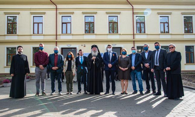 UVT a inaugurat noul sediu al Facultății de Litere, Istorie și Teologie
