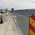 Drumarii, la lucru pe A1