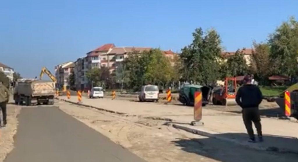 Închiderea traficului rutier pe bulevardul Sudului