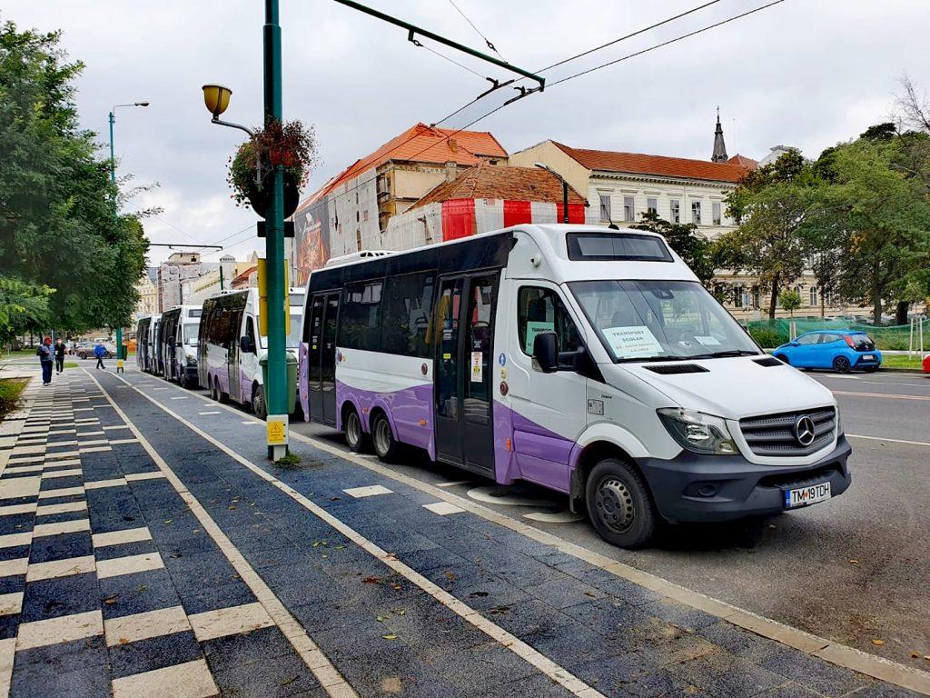 Minibuzele de pe liniile 5a și 5b vor circula deviat