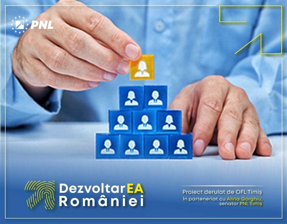 """OFL Timiș și Alina Gorghiu, senator PNL de Timiș și ambasador al României la Women Political Leaders, lansează """"DezvoltarEA României"""""""