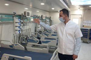 Spitalul Județean redeschide Zona Roșie. Câte paturi are pentru pacienții cu coronavirus