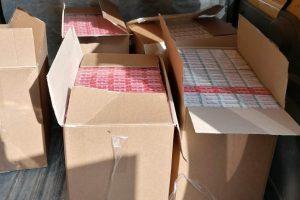 Țigări de contrabandă, confiscate de jandarmii timișoreni
