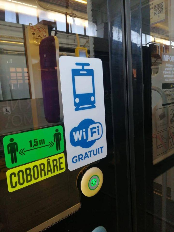 Călătorii au Wi-Fi gratuit în toate mijloacele de transport în comun