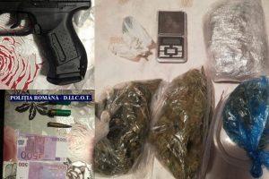 Grup infracțional specializat în trafic de droguri, destructurat