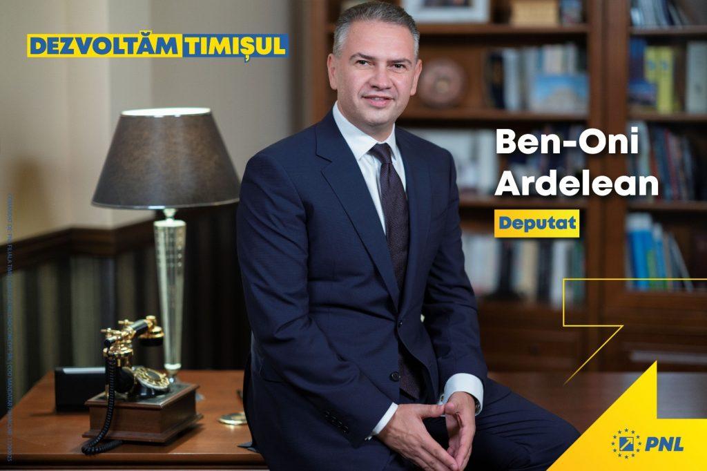 Proiect ambițios al deputatului PNL Ben-Oni Ardelean: Academia de Leadership Politic (P)
