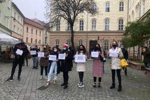Protest la Tribunal pentru deschiderea sălilor de fitness