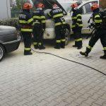 Autoturism facut scrum in Calea Aradului