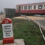 Accident feroviar in apropiere de Comloșu Mare