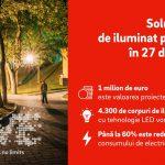 E.ON implementează soluții de iluminat public eficient energetic în 27 de localități