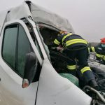 Accident pe autostrada A1, în Timiș. A intervenit descarcerarea