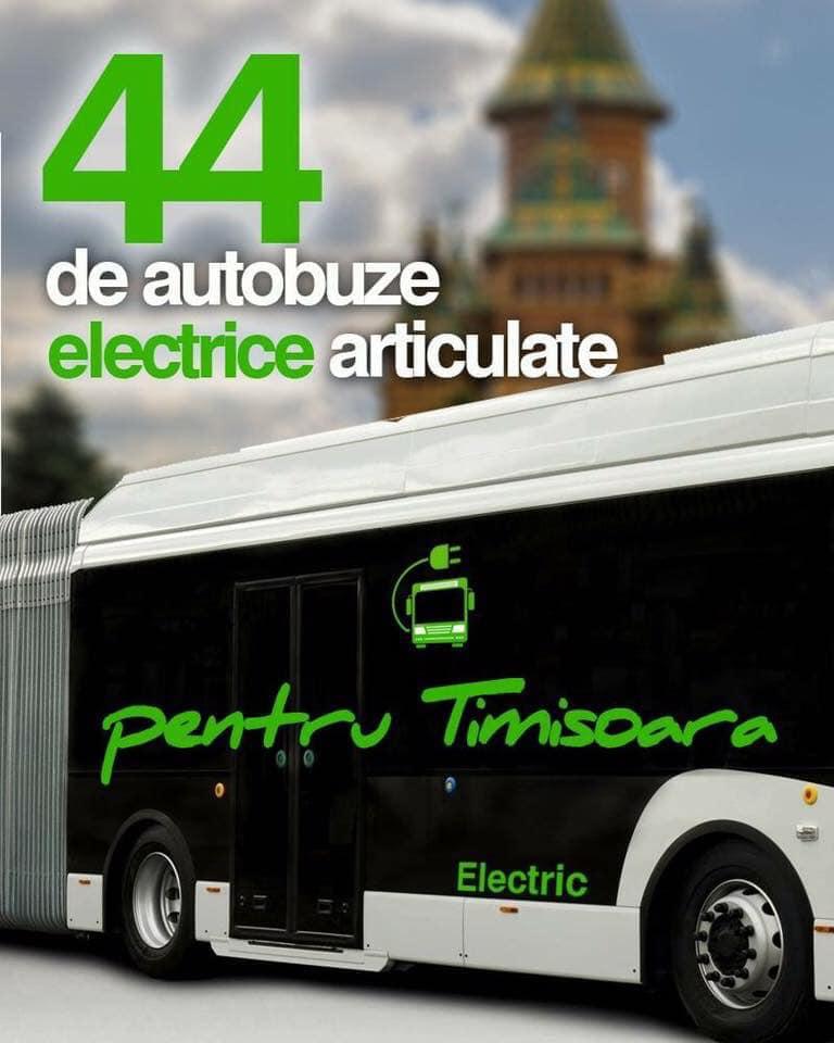 Nicolae Robu anunță că a fost deblocată licitația pentru achiziția a 44 de autobuze electrice mari