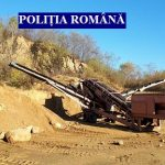 O firmă care lucra fără permis la o balastieră a rămas fără utilajele de peste 400 mii de euro