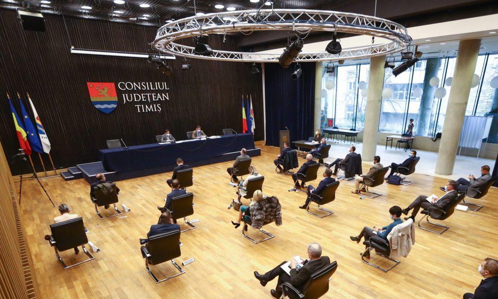 CJ Timiș a aprobat componența celor șapte comisii de specialitate