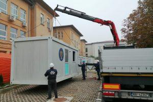 O nouă zonă de triaj epidemiologic la Spitalul de Boli Infecțioase și Pneumoftiziologie Victor Babeș Timișoara