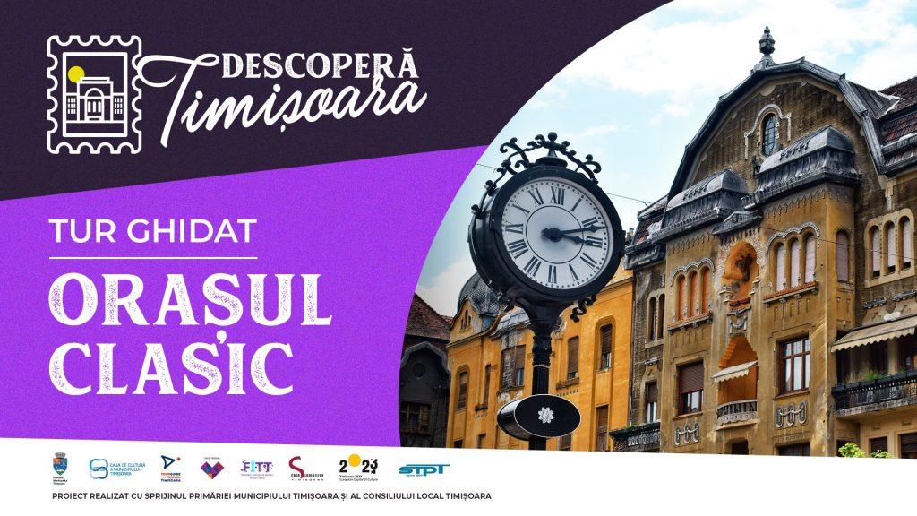 Descoperă Timișoara la pas, cu tramvaiul sau cu vaporetto. Cum te poți înscrie gratuit în tururi ghidate