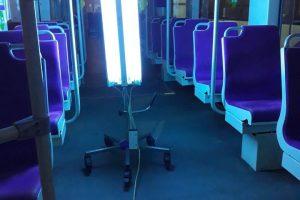 STPT continuă să dezinfecteze mijloacele de transport cu cloramină și lumină ultravioletă