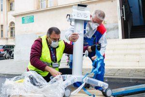 Germania donează României 40 de aparate de ventilaţie pulmonară