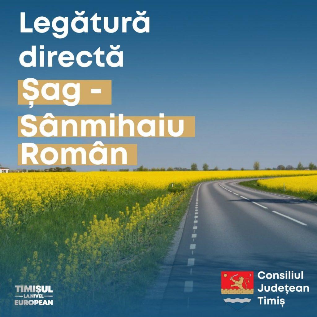 Legătură directă între Șag și Sânmihaiu Român