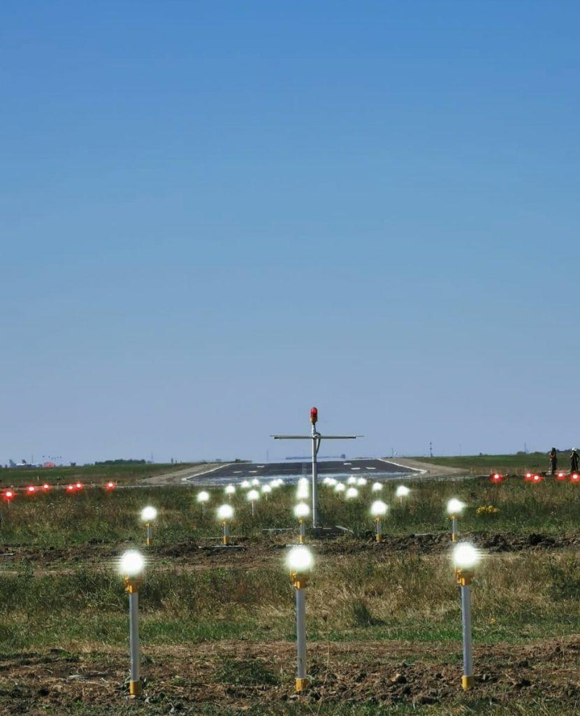 La  Aeroportul Internațional Timișoara a fost pus în funcțiune un sistem performant de balizaj