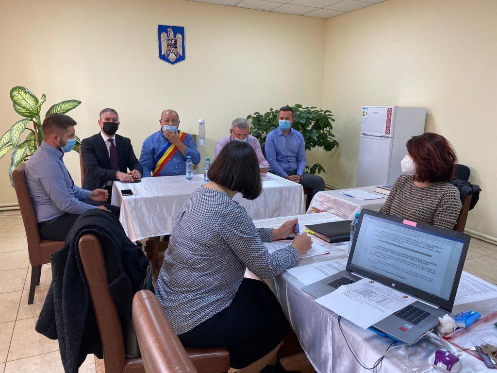 Ioan Munteanu, învestit în funcția de primar al comunei Liebling