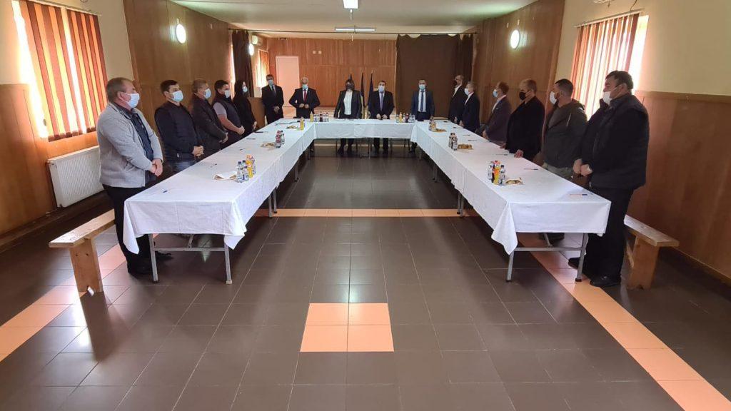 Primarul comunei Victor Vlad Delamarina și consilierii locali, validați de Prefectura Timiș