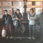 Zece migranți din Afganistan, depistați ascunşi în două TIR-uri la Nădlac II