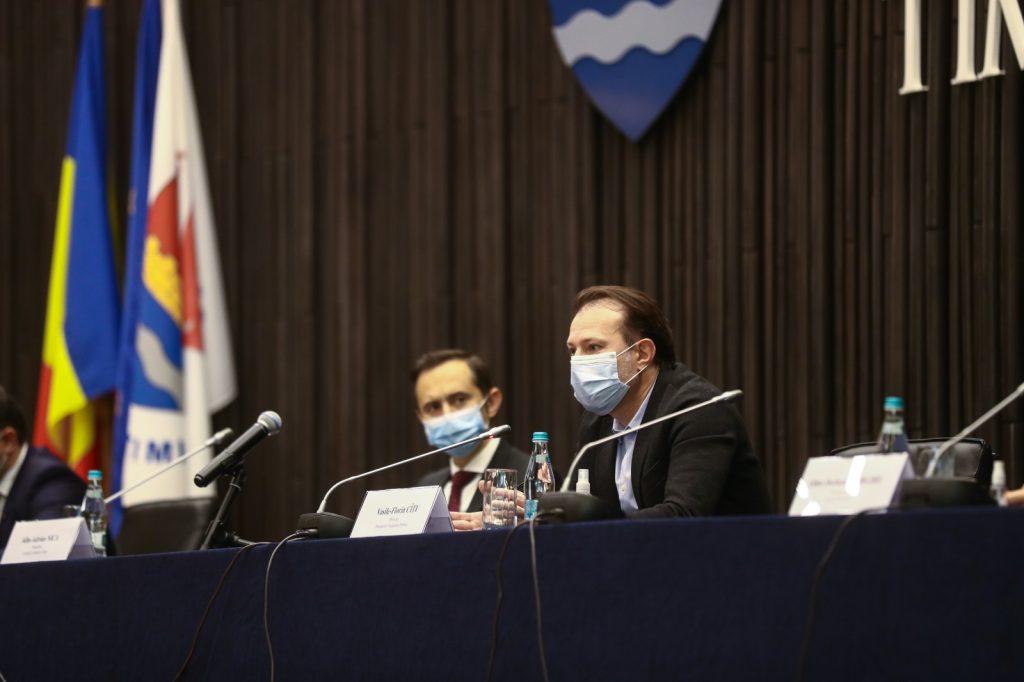 Ministrul Finanțelor, în dialog cu oamenii de afaceri din Timiș, la Consiliul Județean